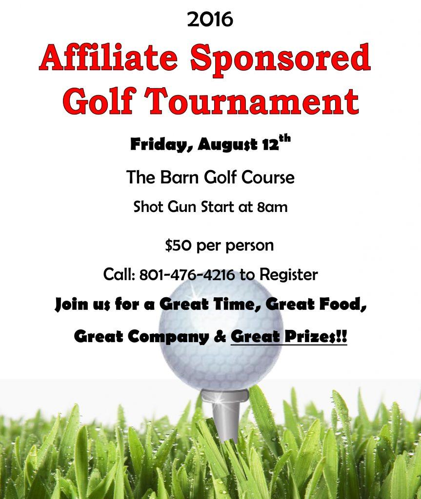 2016 Affiliate Golf Tournament